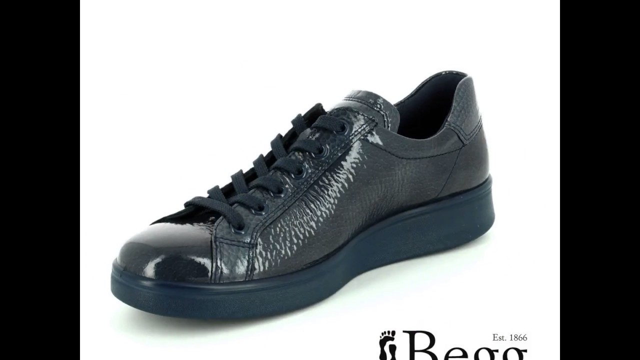 218033-01415 Grey patent lacing shoes