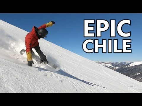 Epic Big Mountain Snowboarding in Chile