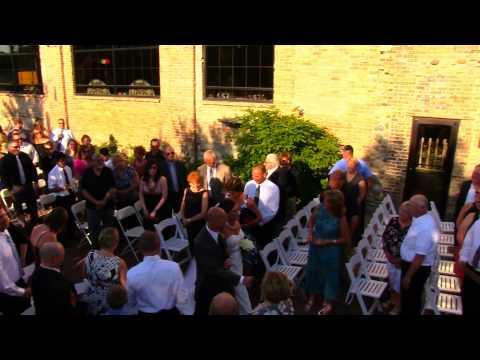 Blumen Gardens Wedding of Michael and Lauren in Sycamore, Illinois