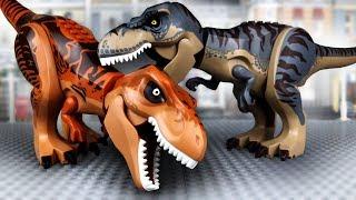 Dinosaurs LEGO T-rex VS T-rex | Dino Jurassic World