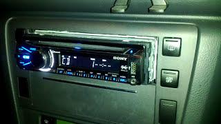 Sony car stereo, strange behave:/ Any idea?