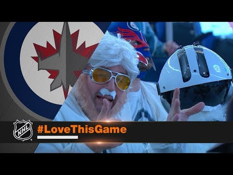 Winnipeg faithful white out Bell MTS Place