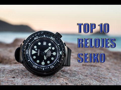 TOP 10 | RELOJES SEIKO