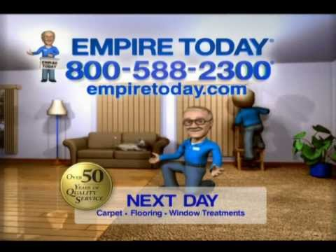 Empire Carpet  Empire Today Commercial End Tag