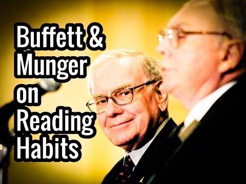 Warren Buffett & Charlie Munger on Reading Habits & Books