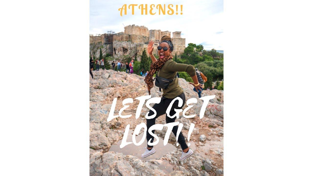 Roaming around Athens// Solo black female traveler