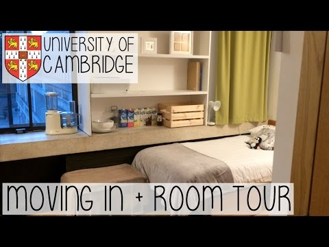 MOVING INTO CAMBRIDGE UNIVERSITY VLOG | SAYING GOODBYE, UNPACKING & ROOM TOUR