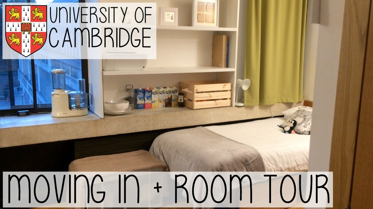 Cambridge english student room decor