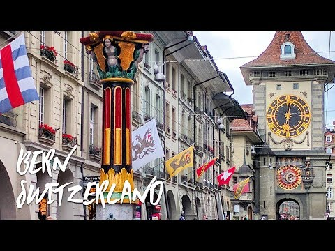 A walk through Bern the capital of Switzerland