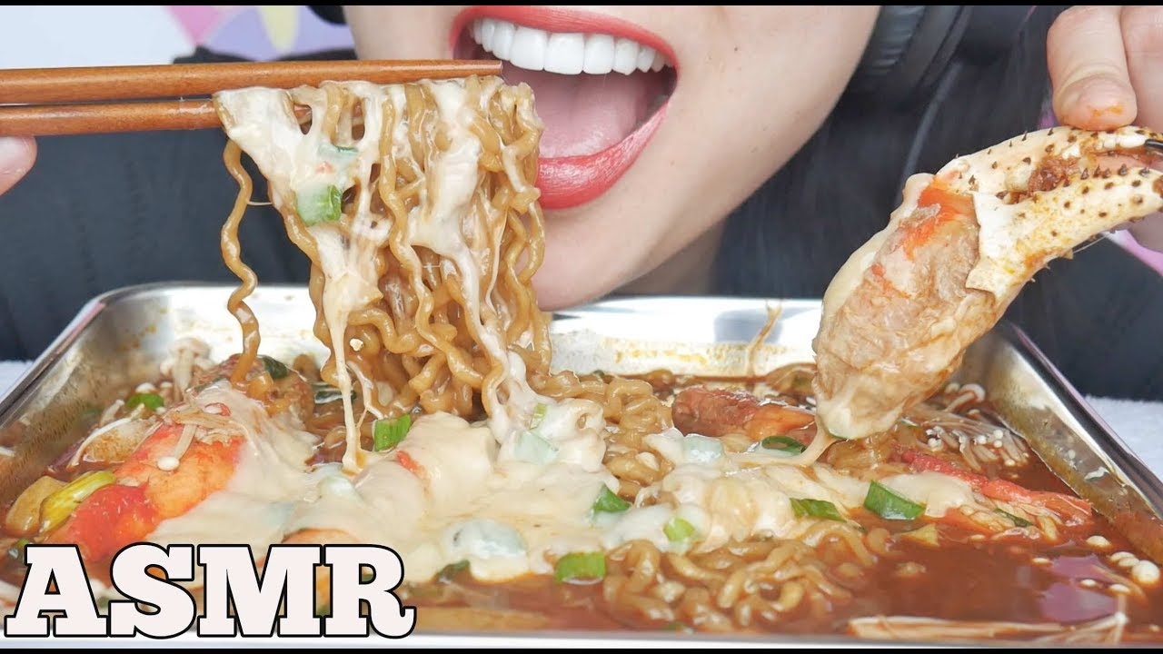 Asmr New Spicy Noodles Rice Cakes Cheesy King Crab Eating Sounds No Talking Sas Asmr Youtube Asmr black bean noodles, spam, egg, green onion kimchi 먹방 massive eating sounds. asmr new spicy noodles rice cakes cheesy king crab eating sounds no talking sas asmr