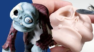 Sculpting a ZOMBIE from Polymer Clay - Creating Your Requests E04
