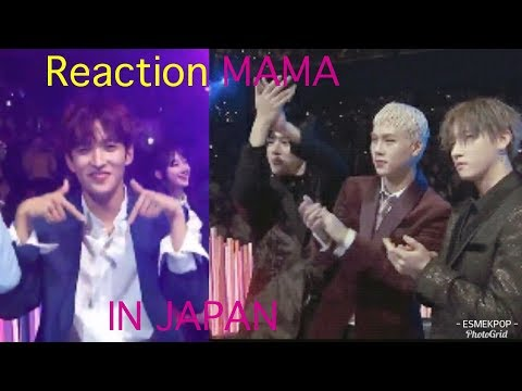 REACTION [MAMA 2017 IN JAPAN] Twice, Exo, Seventeen, Wanna One, ETC..