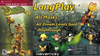 Daxter - Longplay All Masks (All Dream Levels Gold) (PSP) Full Game Walkthrough (No Commentary)