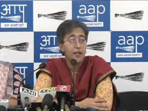 AAP Leaders brief media on Conspiracy to frame its elected Representatives in false case