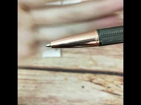 Bút (viết) bi ký tên cao cấp bằng kim loại