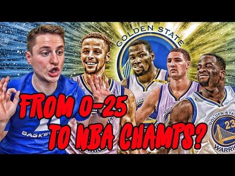 Could The Warriors Start 0-25 And Still Win An NBA Title?