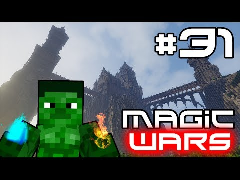 Minecraft Magic Wars - Magical Energy and Healing Spells! #31