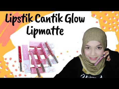 review-lipstik-cantik-glow-lipmatte-lima-warna