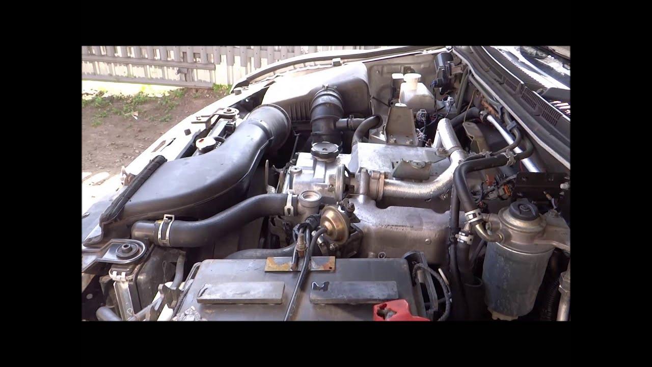 2002 Mitsubishi Eclipse Engine Diagram Heating Wiring Diagrams S Plan Toyskids Co Shogun 3 2 Diesel 4m41t Youtube Galant