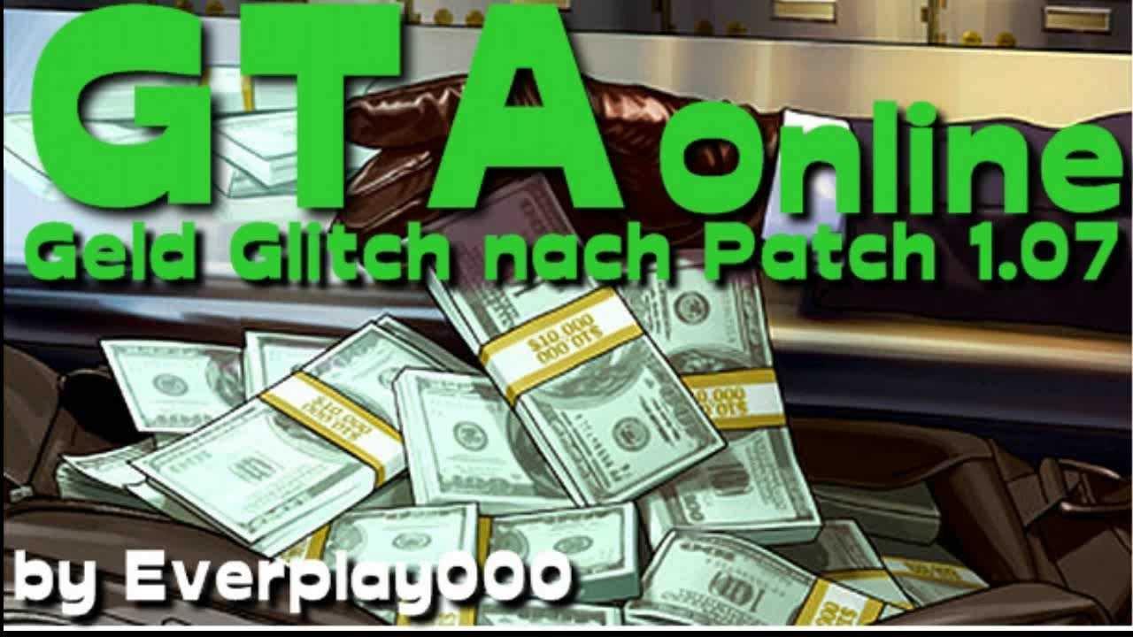 Gta Online Geld Glitch
