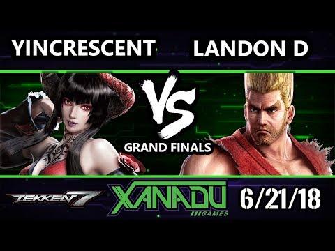 F@X 255 Tekken 7 - Landon D [L] (Paul) Vs. YinCrescent (Eliza) - T7 Grand Finals