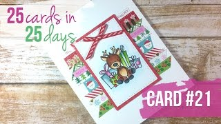 25 Cards in 25 Days | Card #21 | Simon Says Stamp | Stamp Masking
