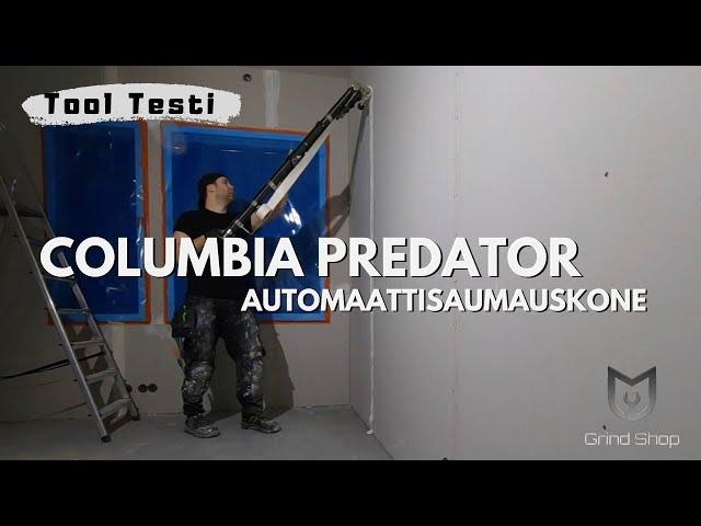 Kipsilevyn saumaus osa 1. Columbia Predator about ensikertalaisen käsissä.
