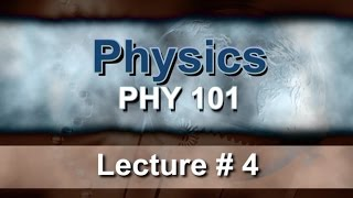 Lecture 4: Force and Newton's Laws  Prof. Pervez Hoodbhoy.mp3