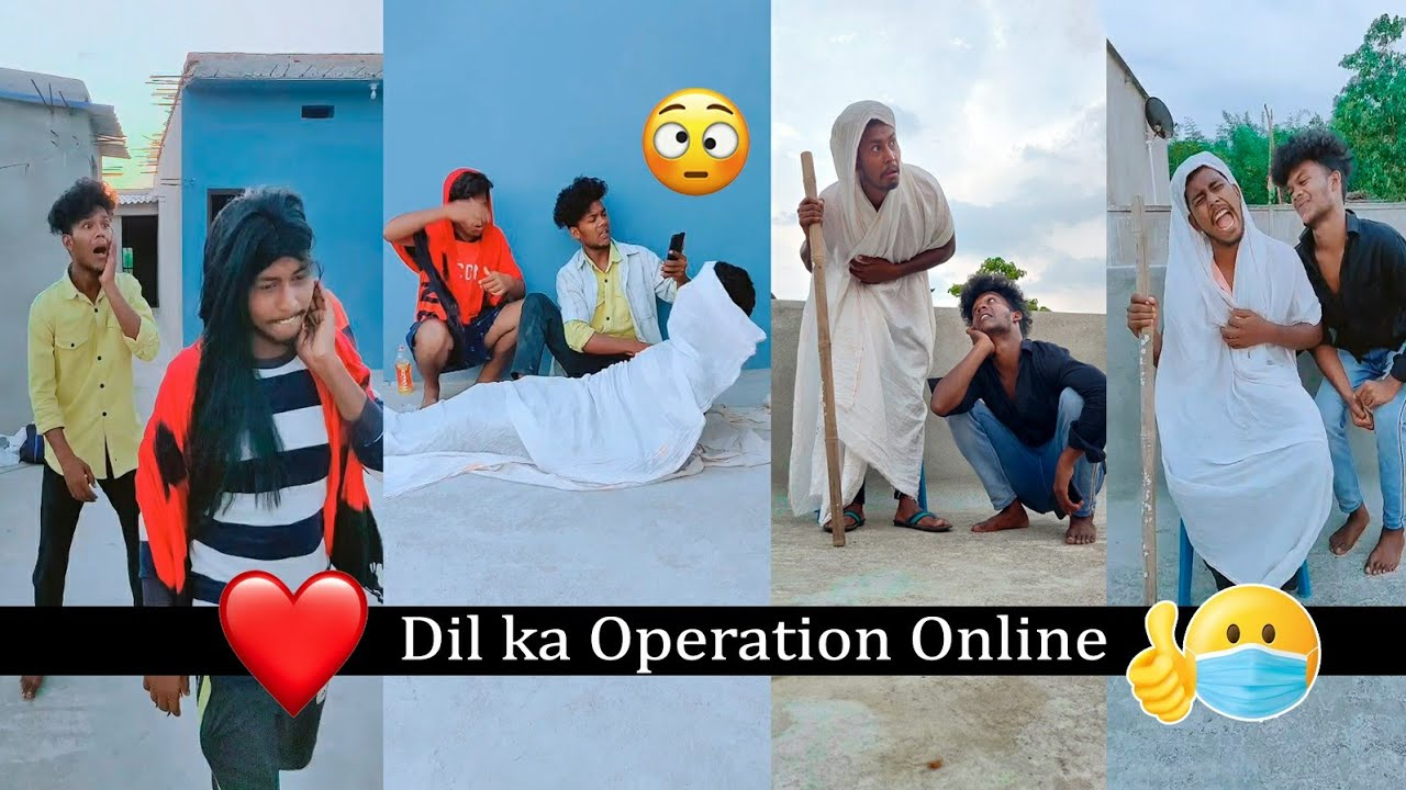 Dil Ka Operation Online Comedy Video || The Comedy Kingdom