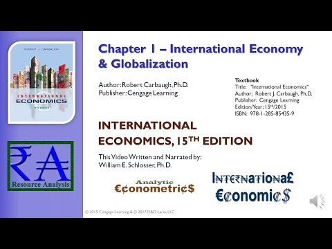 Intl Econ - Chapter 01: International Economy & Globalization