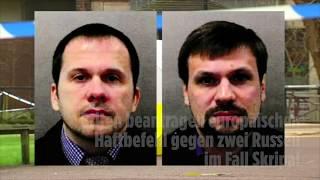 Briten beantragen europäischen Haftbefehl gegen zwei Russen im Fall Skripal