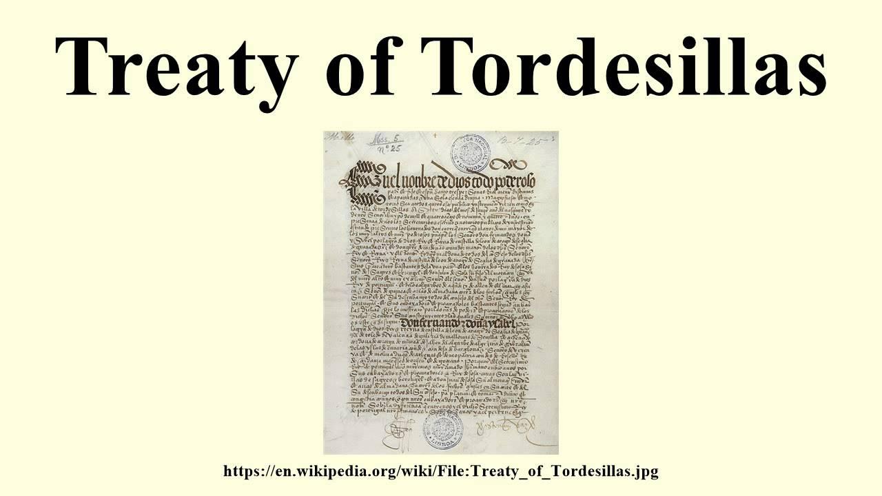 Treaty of Tordesillas YouTube