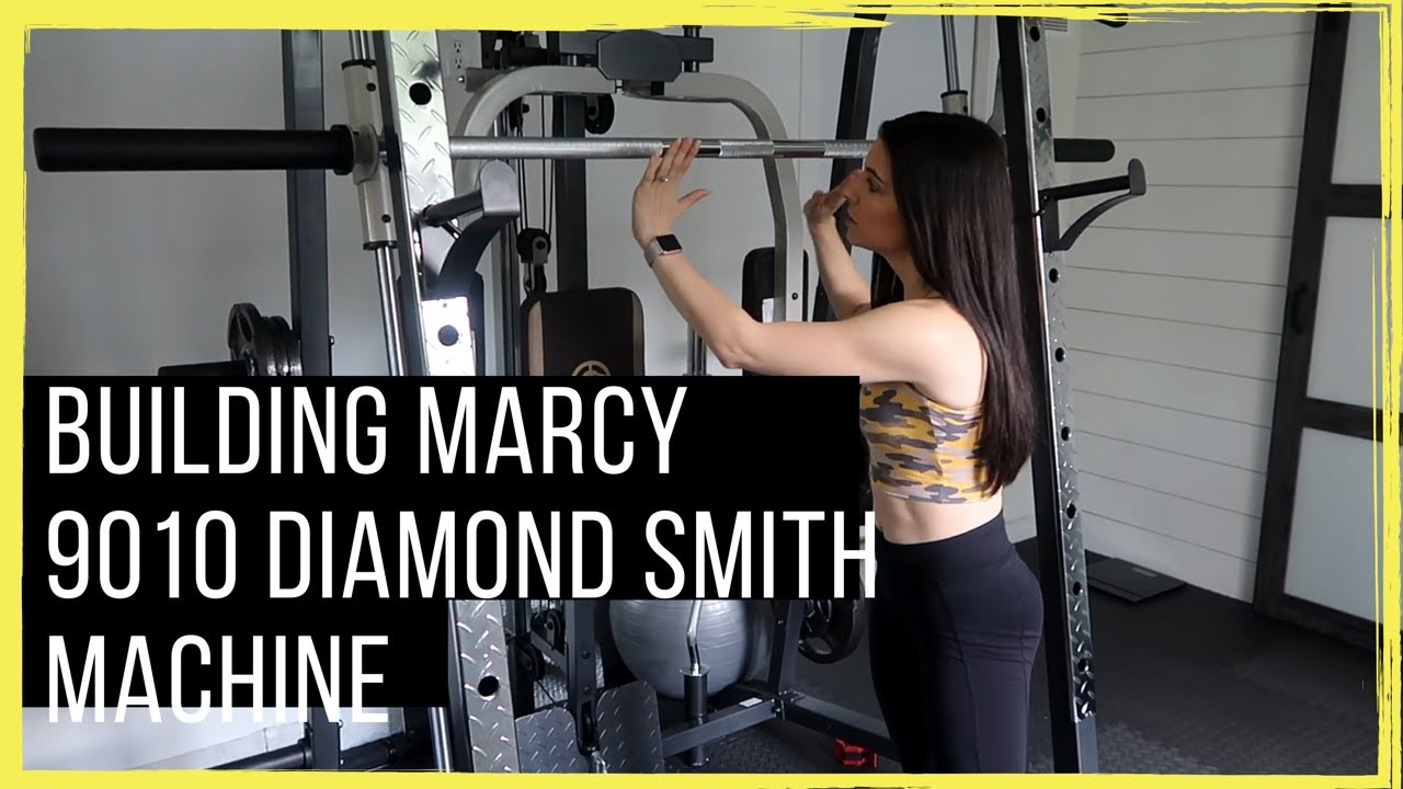 Marcy 9010 smith machine building the perfect all in one home gym