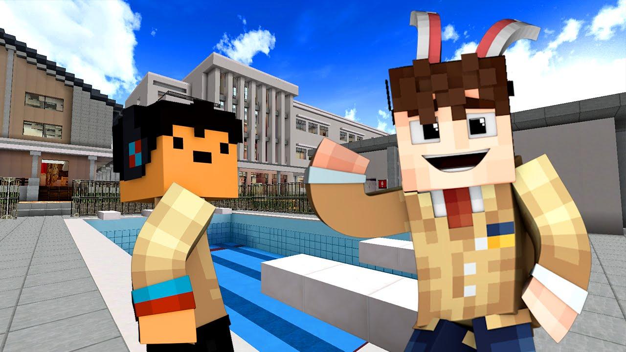 Yandere High School - SWIMMING CLASS! (Minecraft Roleplay) #3 ...