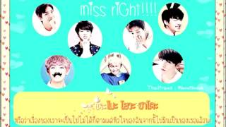 [Karaoke-Thaisub]BTS (Bangtan Boys) - MISS RIGHT (Japanese Ver.)
