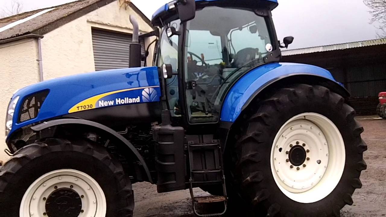 New Holland T7030 Powercommand 40KPH
