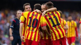 Barcelona, athletic bilbao, highlights, hd, 2014, goals, barcelona vs bilbao athletic, barca - barcel...