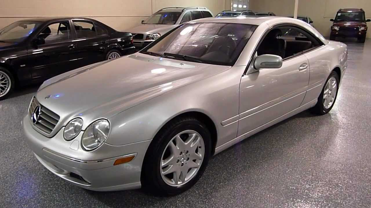 2002 mercedes benz cl500 2dr coupe 5 0l sold 2183