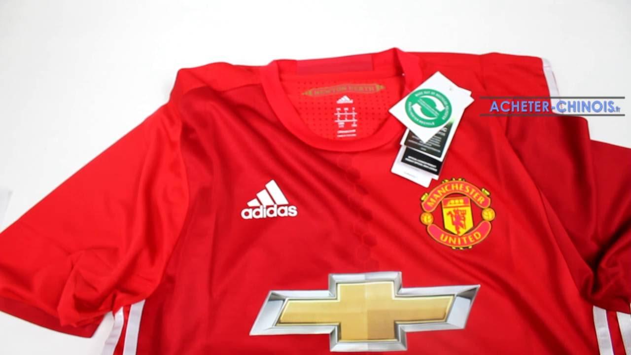 Maillot Domicile Manchester United boutique