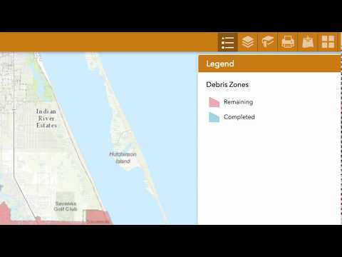 Debris Map Instructions