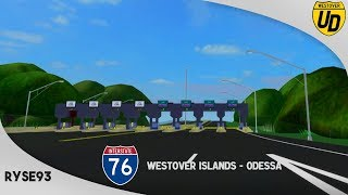 Roblox: USA: Interstate 76 Westover Islands - Odessa