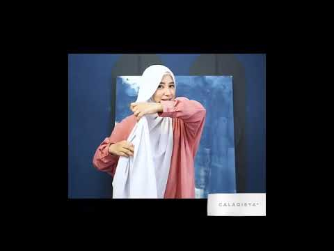 Modest shawl tutorial in 1 minute thumbnail