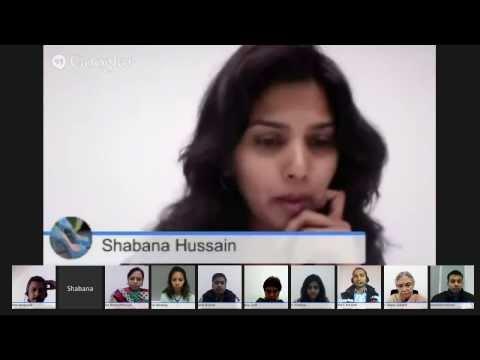 Google+ Hangout with Sheila Dikshit