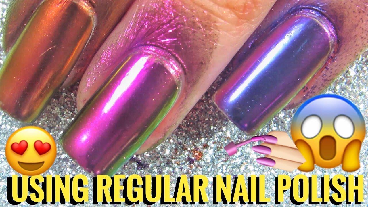 Rainbow Mirror Nails Born Pretty Top Grade Powder Review