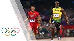 Jamaica Break Men's 4x100m World Record - London 2012 Olympics