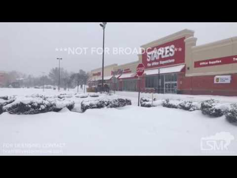 03-14-2017 Chicopee, Massachusetts - Blizzard