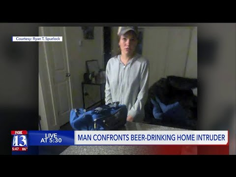 Jason Carr - Woman Breaks Into Guys House To Pet Dogs, Have A Beverage