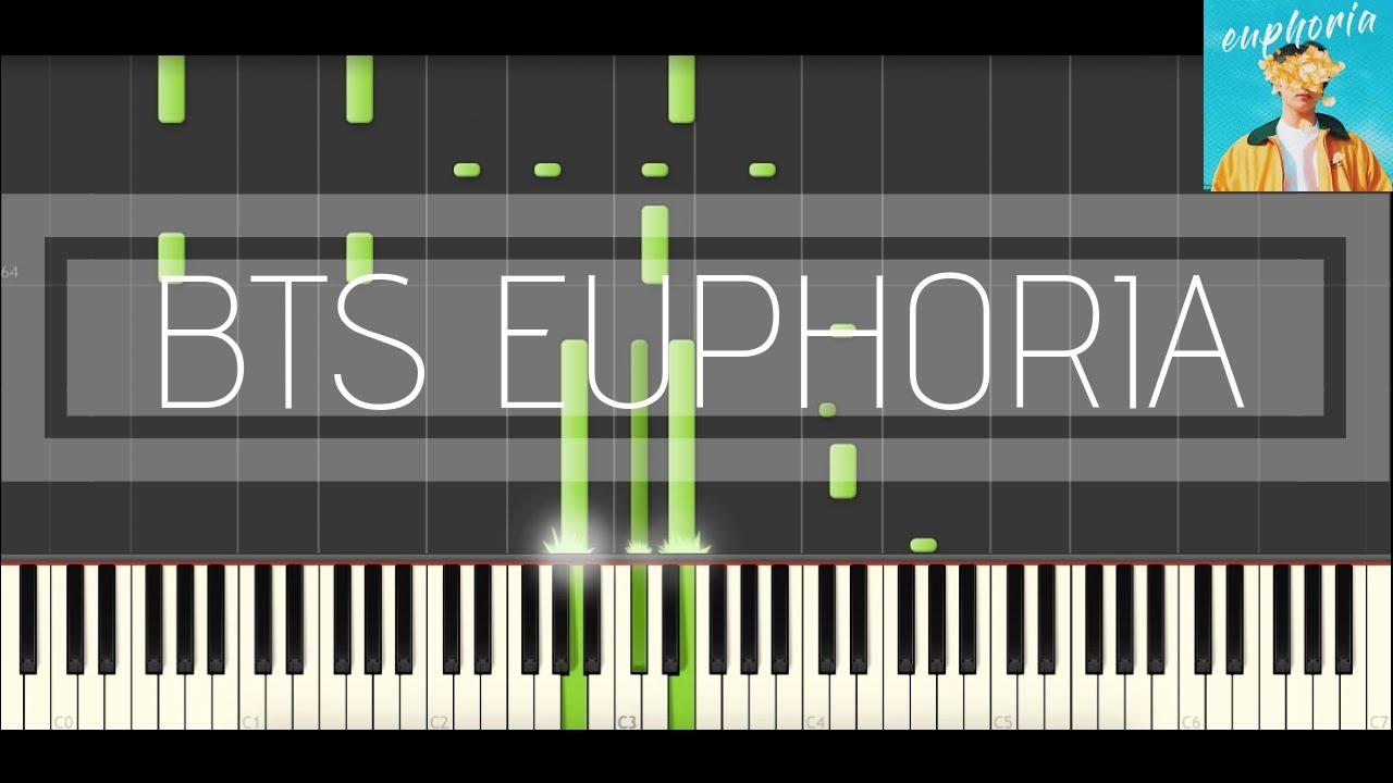 BTS Jungkook - Euphoria (Piano Tutorial & Cover) - Thủ thuật