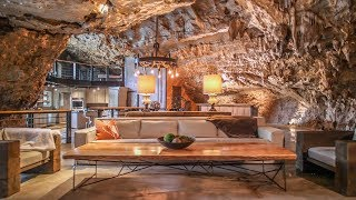 Cave + Luxury?! -- The Most Unique Vacation Rental Ever  |  Beckham Creek Cave Lodge
