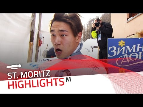 Sungbin Yun rewrites history in St. Moritz | IBSF Official